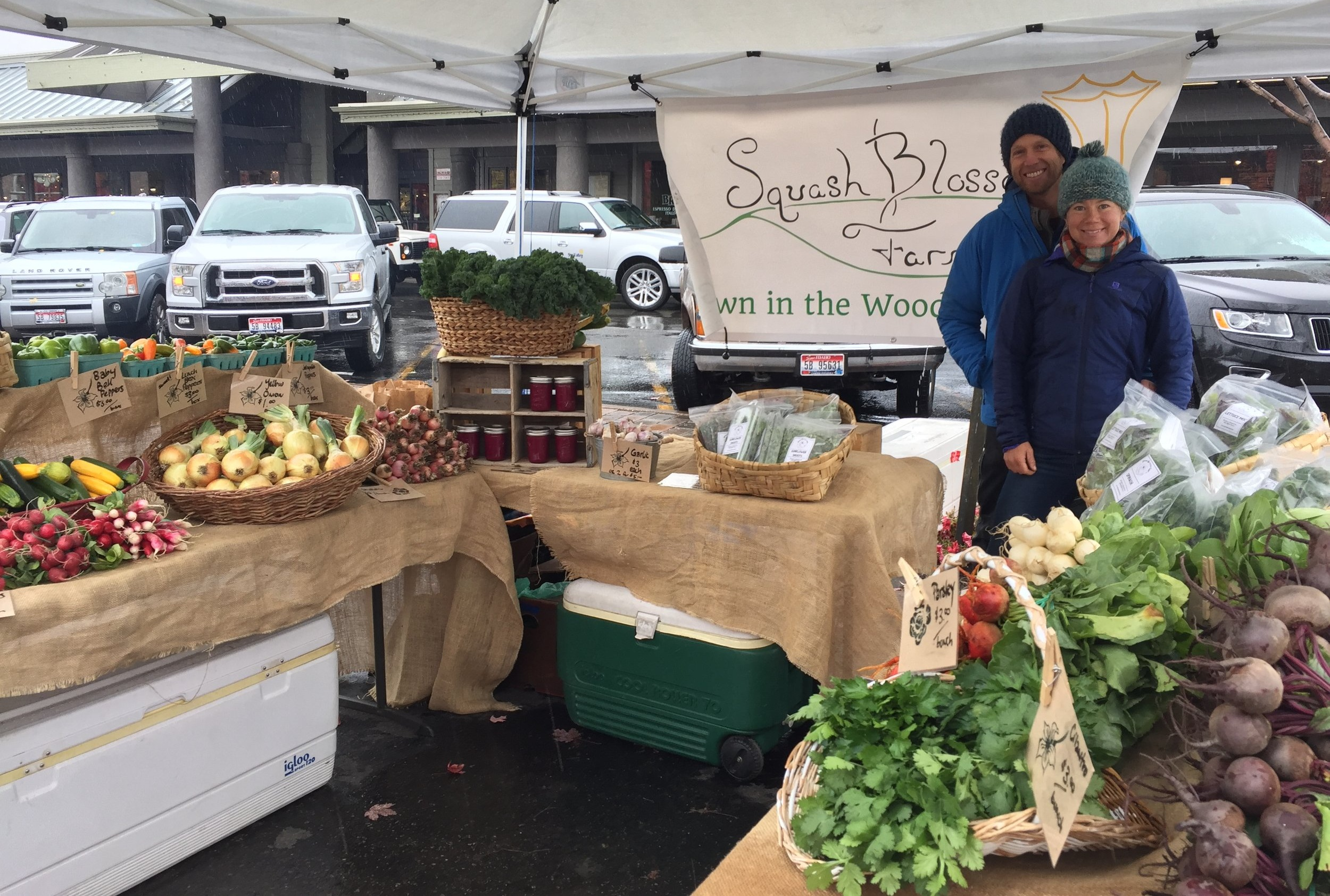 Find us at theKetchum Farmer's Market! - The Farmers Market is our favorite way to interface with our customers and pass fresh, delicious produce directly from farmer to consumer.Tuesdays 2-6 pm / June - October http://wrfarmersmarket.org/ketchum-market/