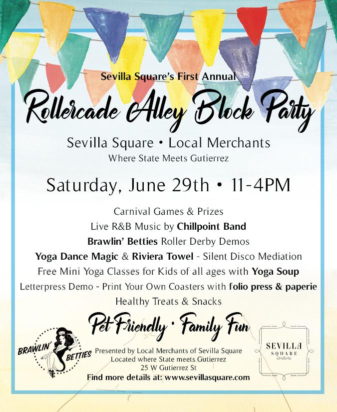 santa barbara block party @ sevilla square