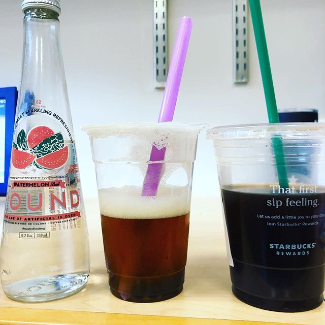You know school is starting when I have 3 different drinks after meeting with 3 awesome students -  DM me and let's grab coffee! #newyear #loveourstudents #coffeecoffeecoffee #hydrate #jewishlife