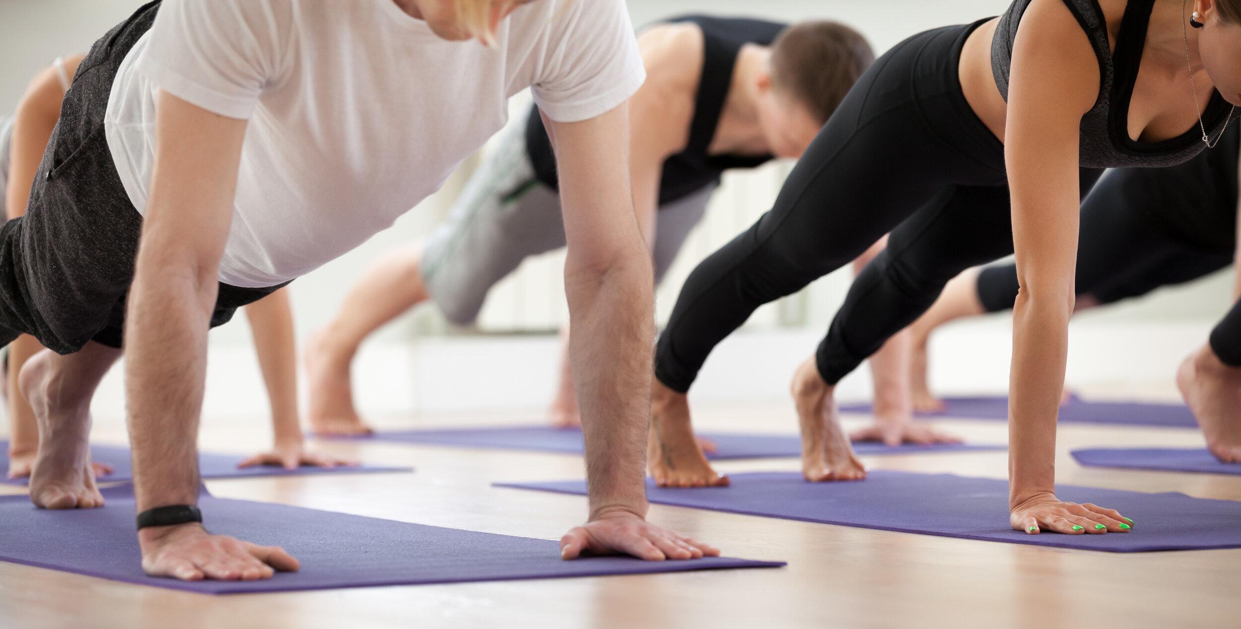 Vinyasa Flow Yoga — Yoga at the Mill