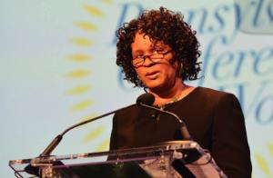 Linda Cliatt-Wayman, Principal of Strawberry Mansion High School. Photo taken from Pennsylvania Conference for Women