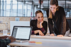 Design thinking can help women come up with solutions as women in leadership.
