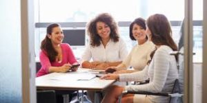 The new Gallup poll on the American workforce says women are more engaged in their work than men.