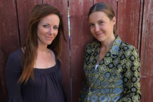 CNote co-founders Catherine Berman (left) and Yuliya Tarasava developed financial products that do good and do well.