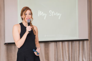 Katherine Homuth, CEO and founder of Sheerly Genius, developed a product that is unbreakable.
