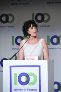 Amanda Pullinger, CEO of 100 Women in Finance, says women in finance need to be more visible