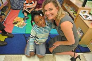 Brenda Langstraat, CEO of Working in The Schools, raises money a public schools literacy mission.