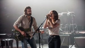 """Lady Gaga and Bradley Cooper in """"A Star Is Born"""" volley power and success."""