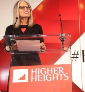 Ruth Ann Harnisch speaking at a recent Higher Heights conference.