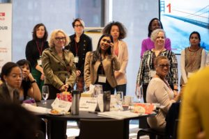 Take The Lead's 50 Women Can Change The World in Journalism recent gathering at the Ford Foundation.