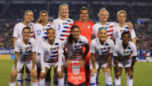 The members of the U.S. women's national soccer team filed a gender discrimination suit. (Getty Images)