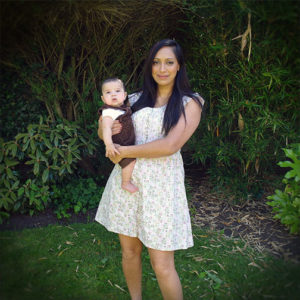 Mandeep Shahi, founder of ZENMED, wither her youngest son.