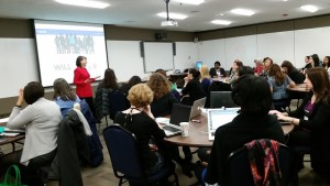 Gloria Feldt, co-founder and president of Take The Lead, offers trainings as part of the Summer SIlent Auction.