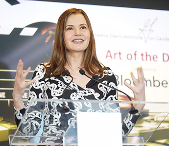 "Geena Davis, actor and founder of Geena Davis Institute, has a new documentary, ""This Changes Everything."""