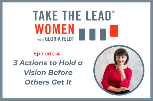 Click  here  to listen to Episode 4 of Take The Lead's new podcast series.