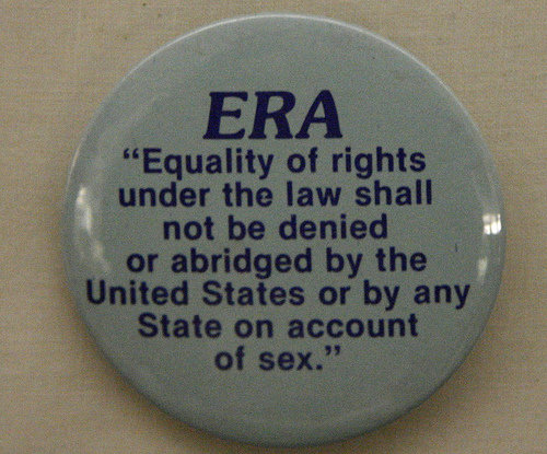 It's time to see the ERA amended to the Constitution.