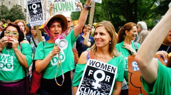 More women are leaders in climate change initiatives.