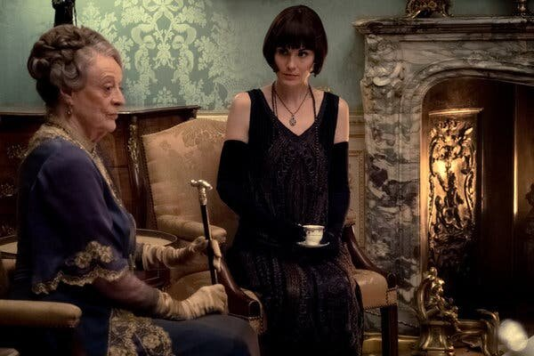 """In the new """"Downtown Abbey"""" film, Dowager Countess and Lady Mary run the show. (Focus Features)"""