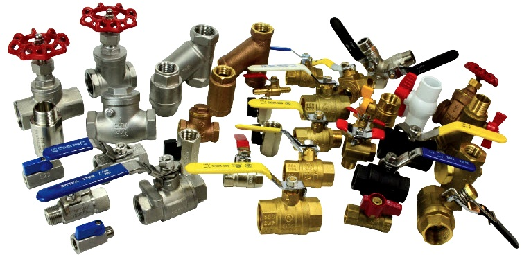 PIPE FITTINGS & VALVES