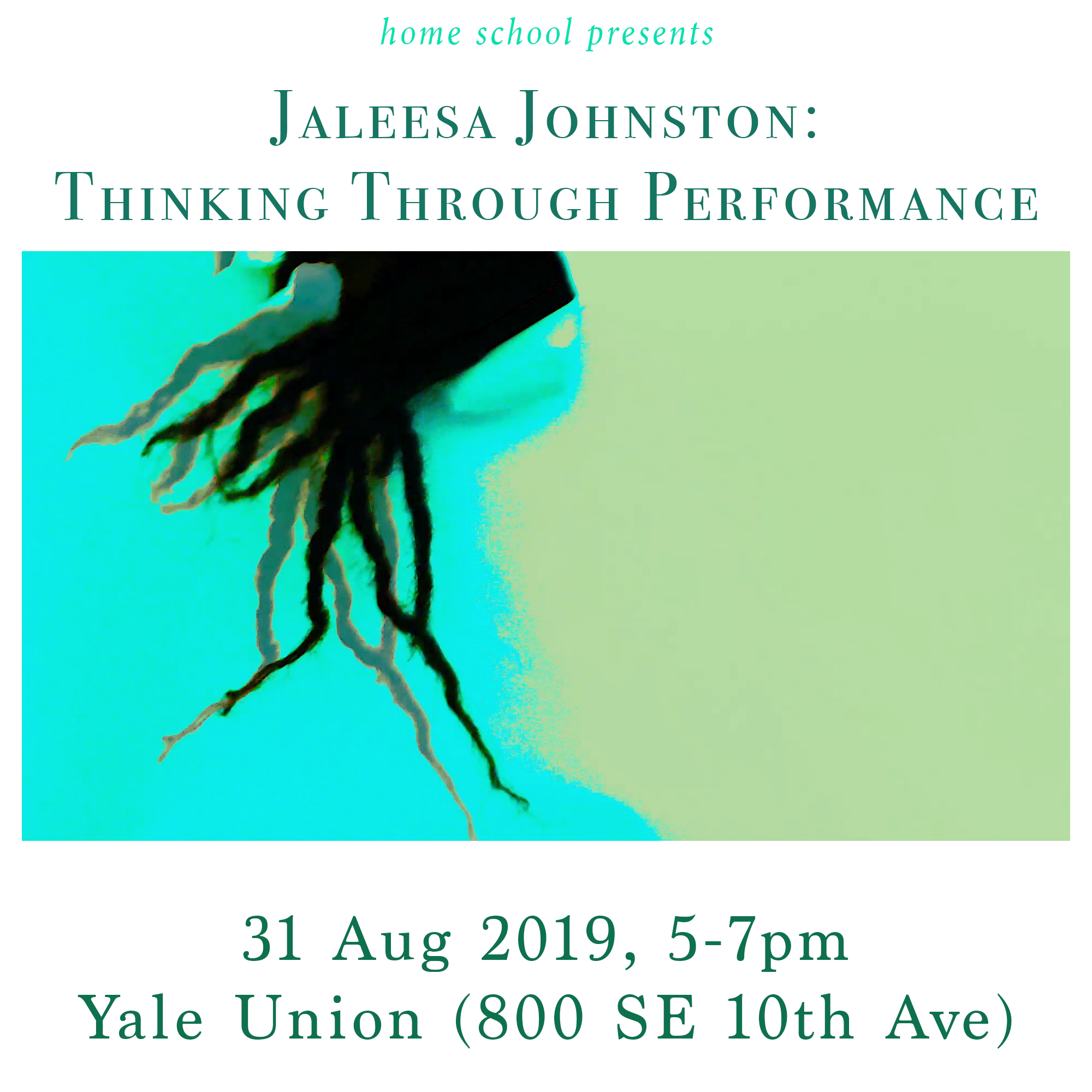 Upcoming Artist Talk at Yale Union - I am very excited to be doing an artist talk at Yale Union this coming Saturday, August 31st from 5:00-7:00 PM as apart of this year's home school programming!  While the focus of the talk is on performance, I will be touching on common threads that run throughout my work as a whole.  Please join me if you can!