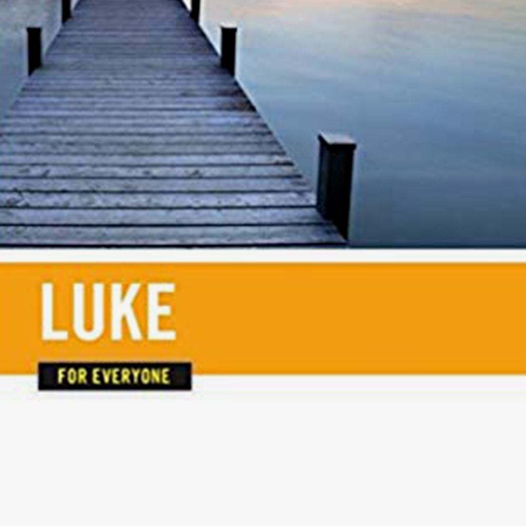 Luke for Everyone  is a devotional commentary written by N.T. Wright. Check it out for thought-provoking insights about the Book of Luke without any stuffy language!