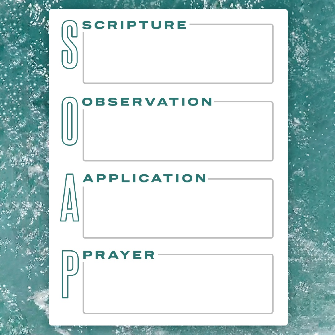 Print out your own SOAP Cards for your study of Luke! This .PDF file can be downloaded digitally and printed out as many times as you'd like.