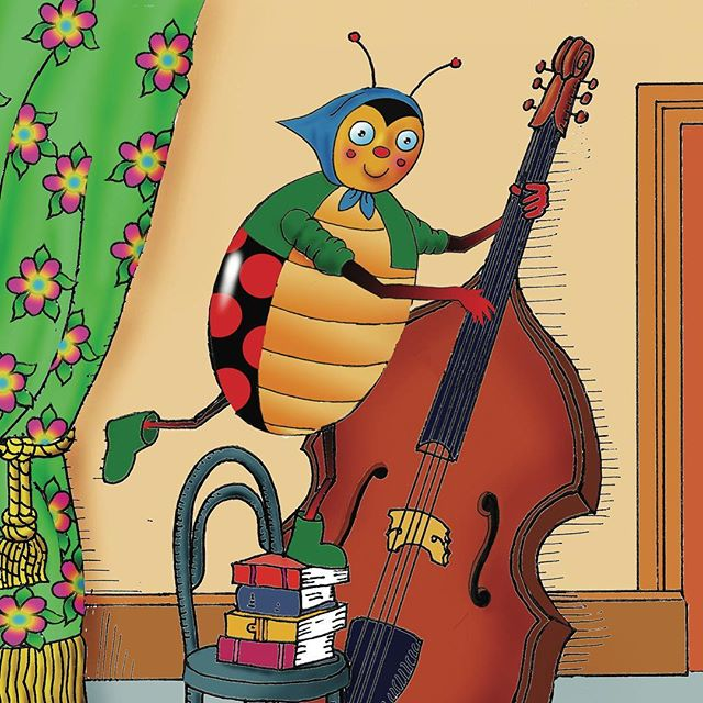 Lilly Ladybug loves to play the double bass, so she wanted to find some friends that loved to play instruments too. Lilly knew that if she found anyone who loved music as much as she did, this could be the start of a wonderful friendship. Who did she meet and how did their music sound?