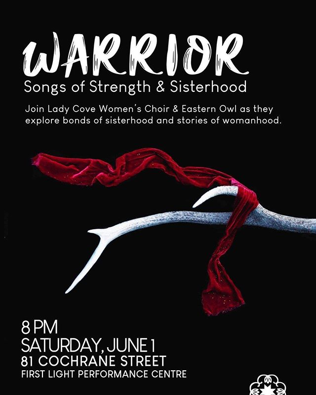 Our friends in @easternowl07 & Lady Cove Women's Choir have reserved seating just for Girls Rock at this show on Saturday! Thanks, friends! Send us a message if you'd like to be added to the guest list for the show.