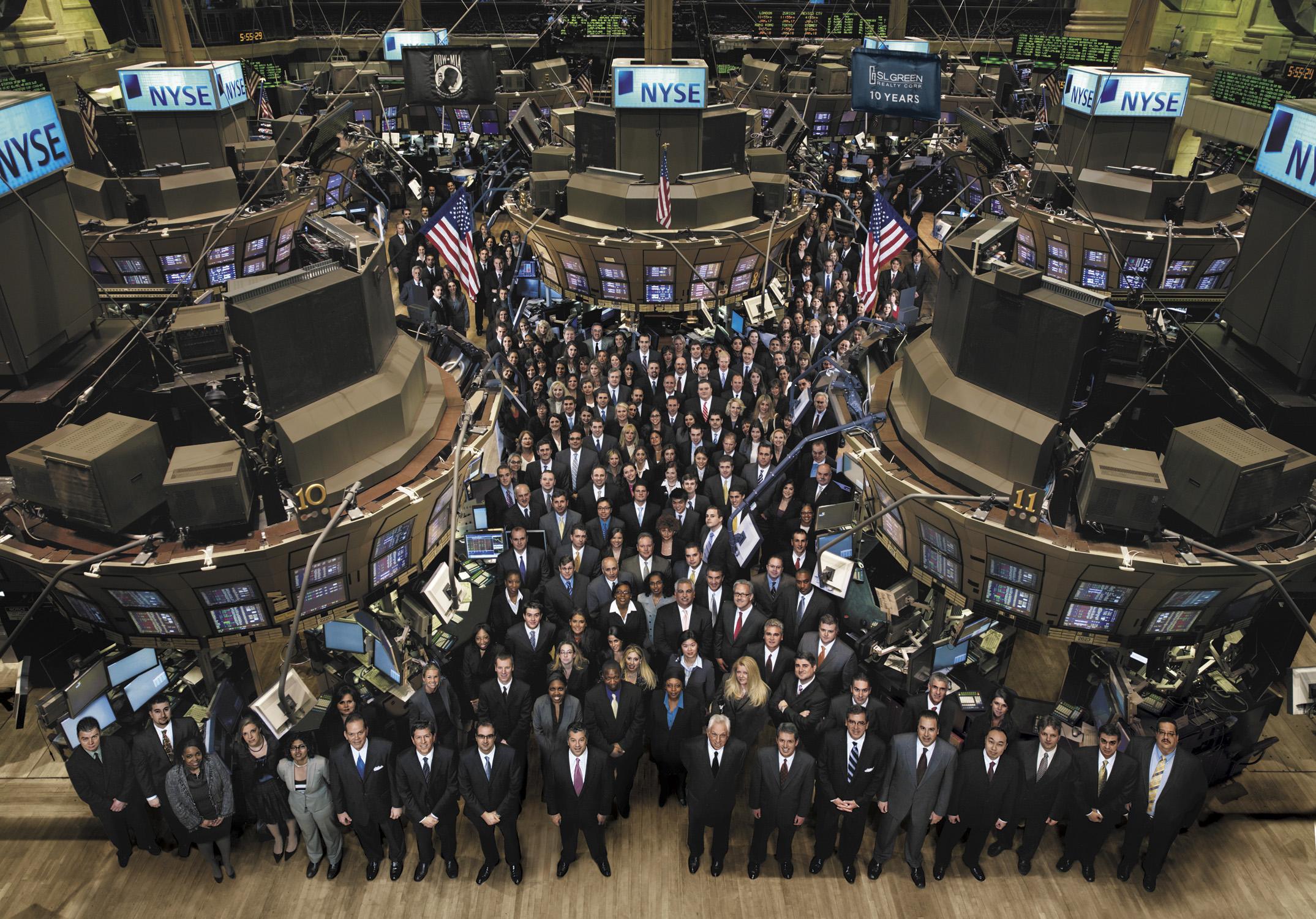 SL Green at the NYSE