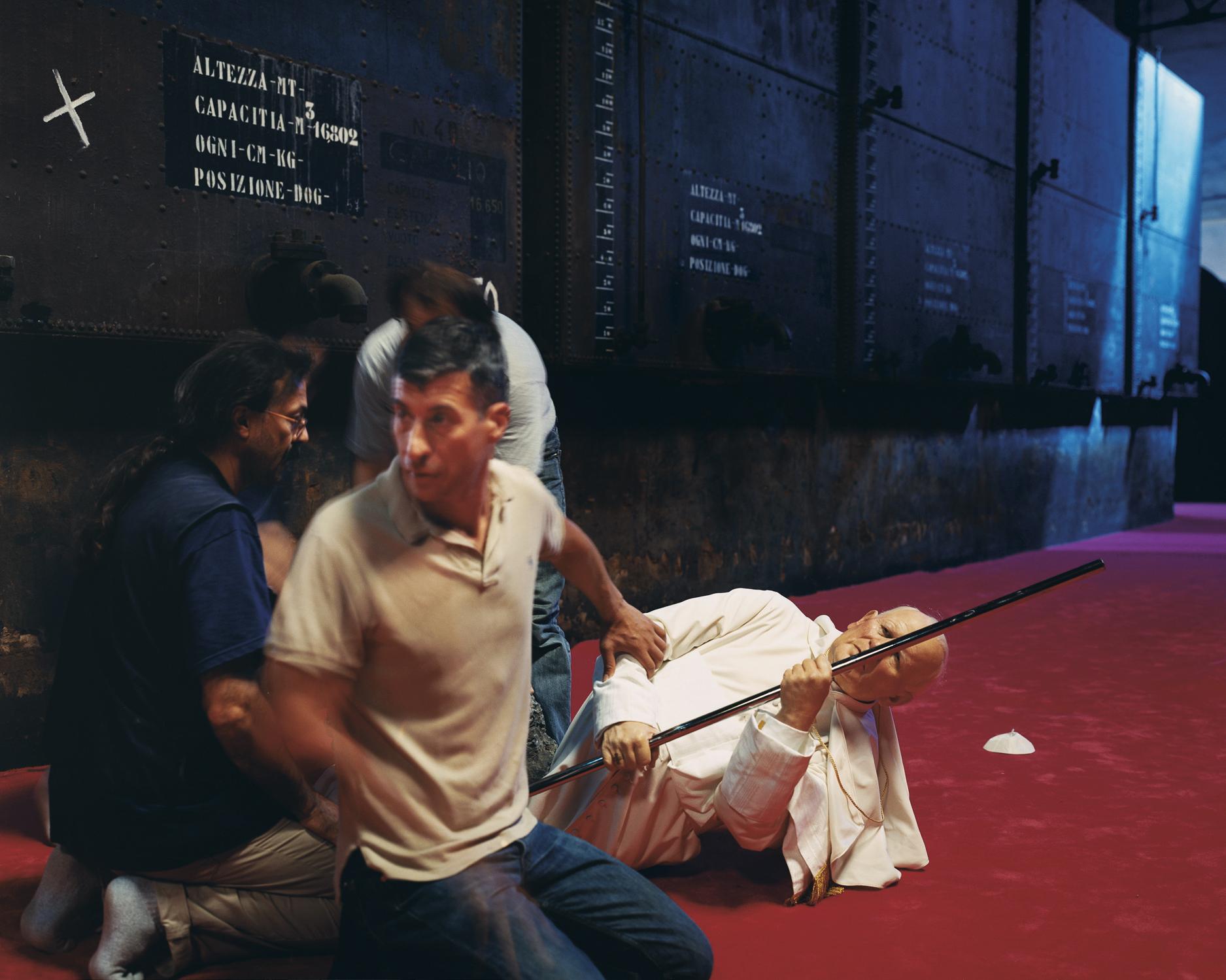 Maurizio Cattelan, 2001 Venice, Italy