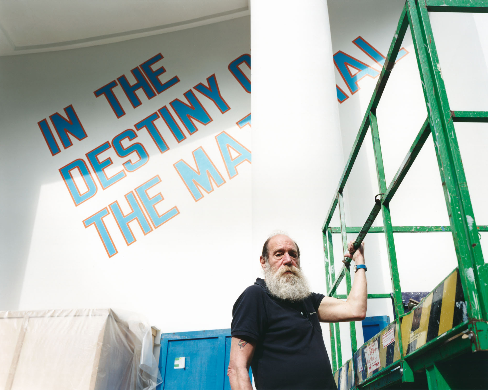 Lawrence Weiner, 2007 Venice, Italy