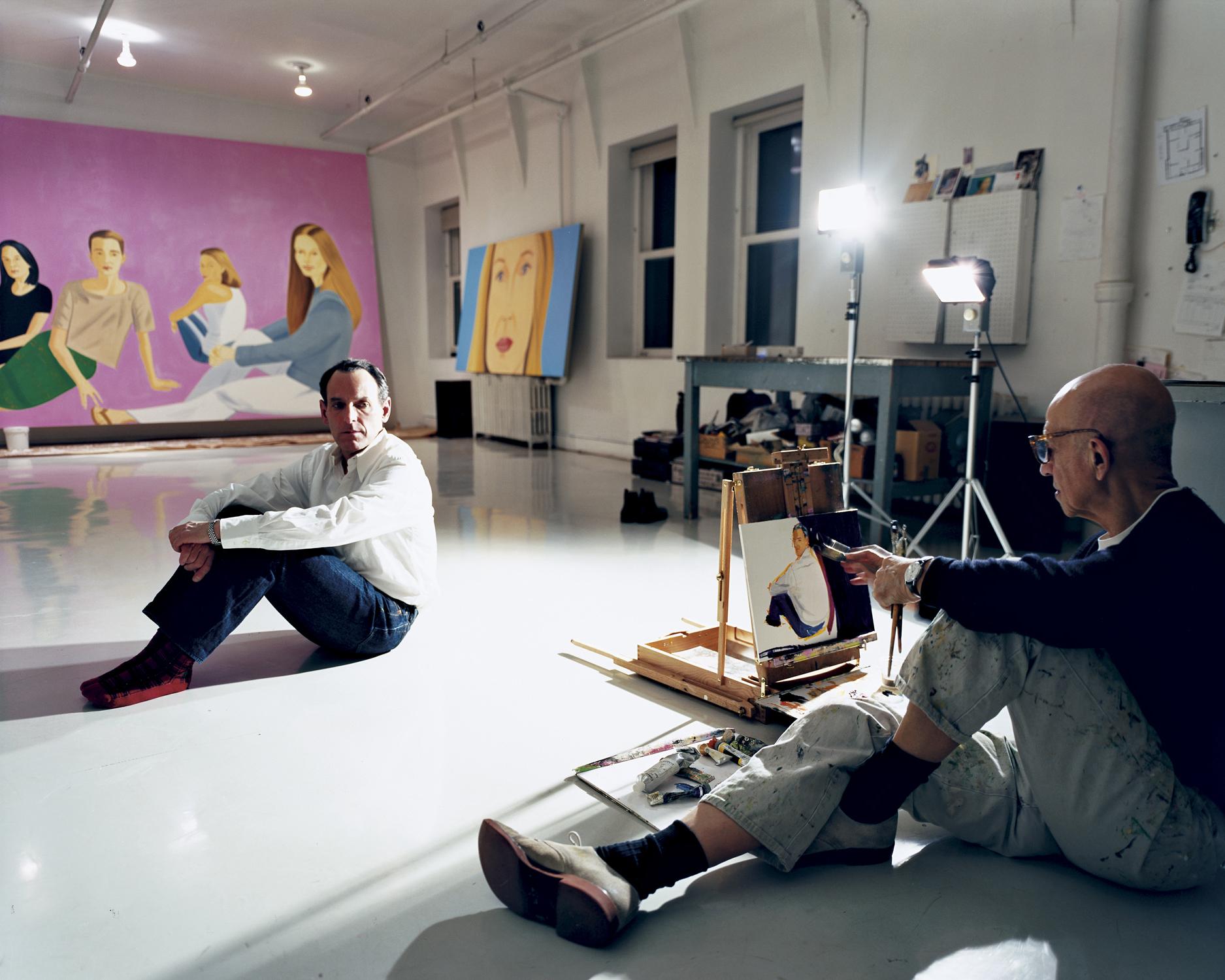 Alex Katz, 2005 New York, New York