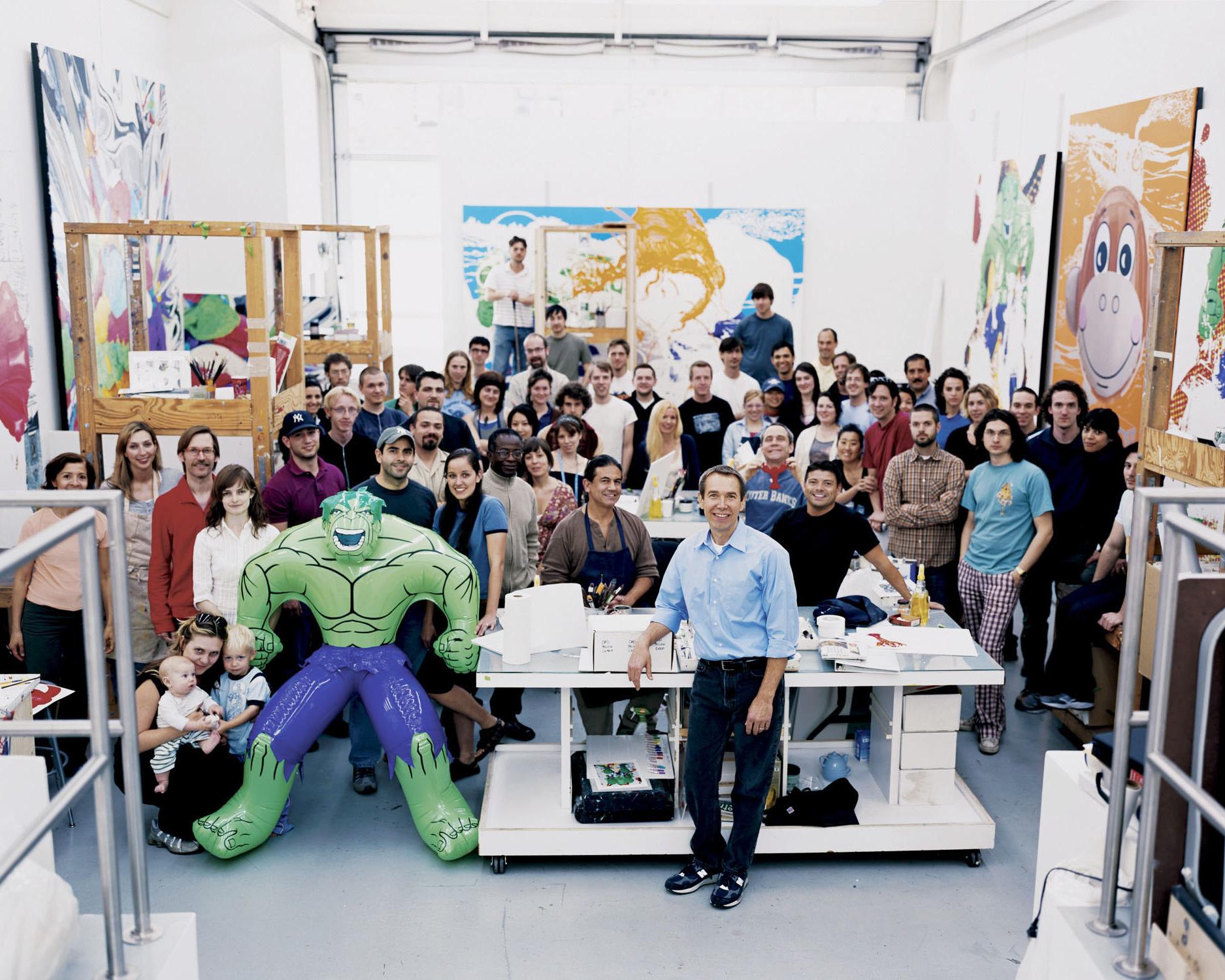 Jeff Koons, 2006 New York, New York