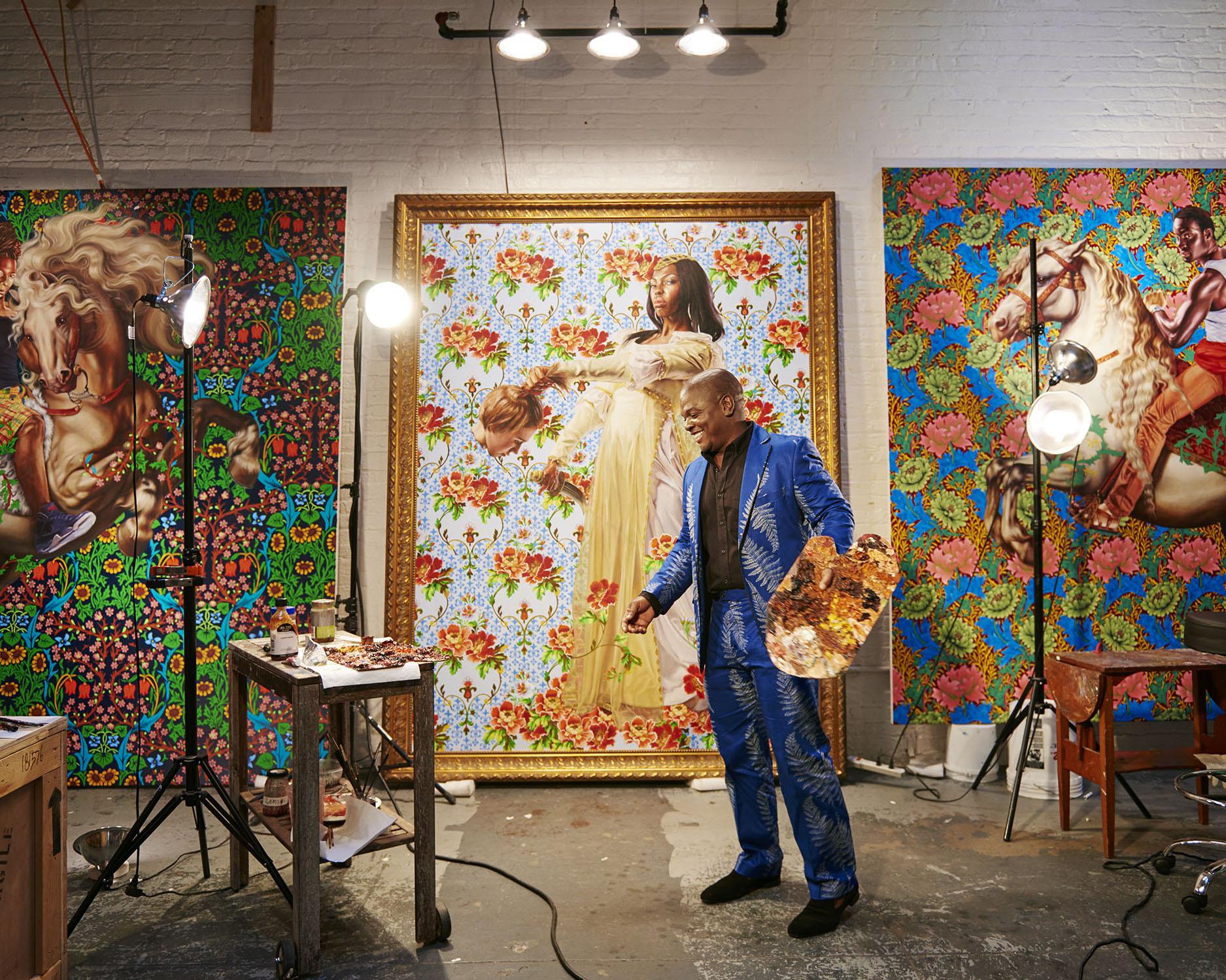Kehinde Wiley, 2005 Brooklyn, New York