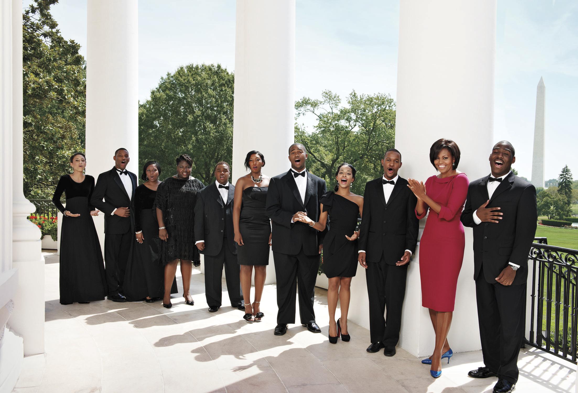 Harper's Bazaar - Michelle Obama