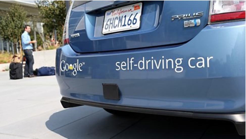 In many states in America it is legal for driverless cars to take to the road.