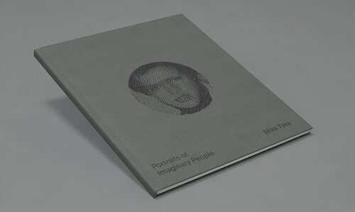 """Portraits Of Imaginary People (Book) - Hardcover Book - Buy HereISBN: 978-1-926968-41-4SIZE: 9.5"""" x 11.5""""FINISHING: Vellum Wrap w. Deboss & Foil StampINTERIOR: 60 Pages Colour"""