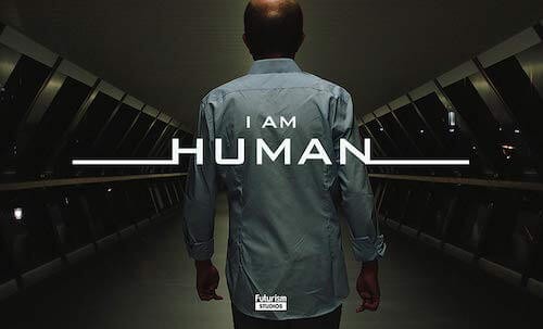 I AM HUMAN - I AM HUMAN is a sci-fi documentary that explores the future of man + machine.