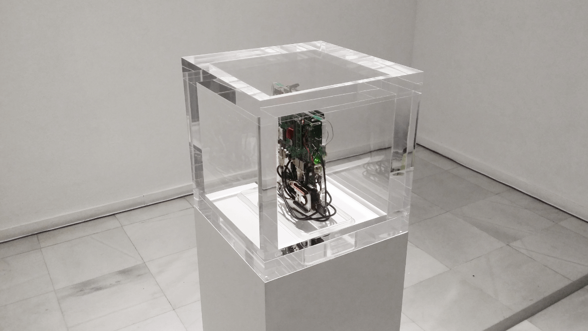 Autonomy Cube - Autonomy Cube is itself a Tor relay, and can be used by others around the world to anonymize their internet use. When Autonomy Cube is installed, both the sculpture, host institution, and users become part of a privacy-oriented, volunteer run internet infrastructure.