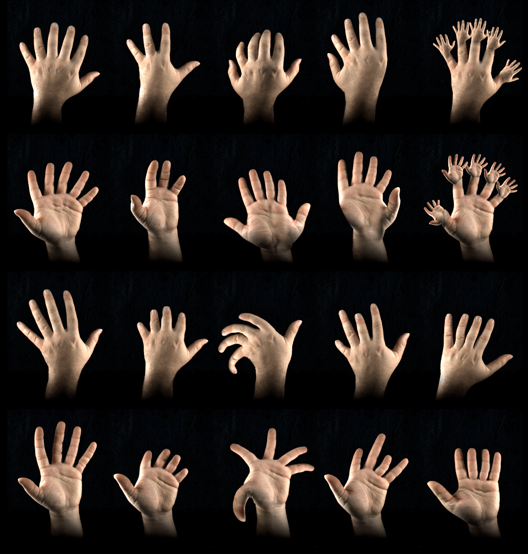 Augmented Hand Series - The