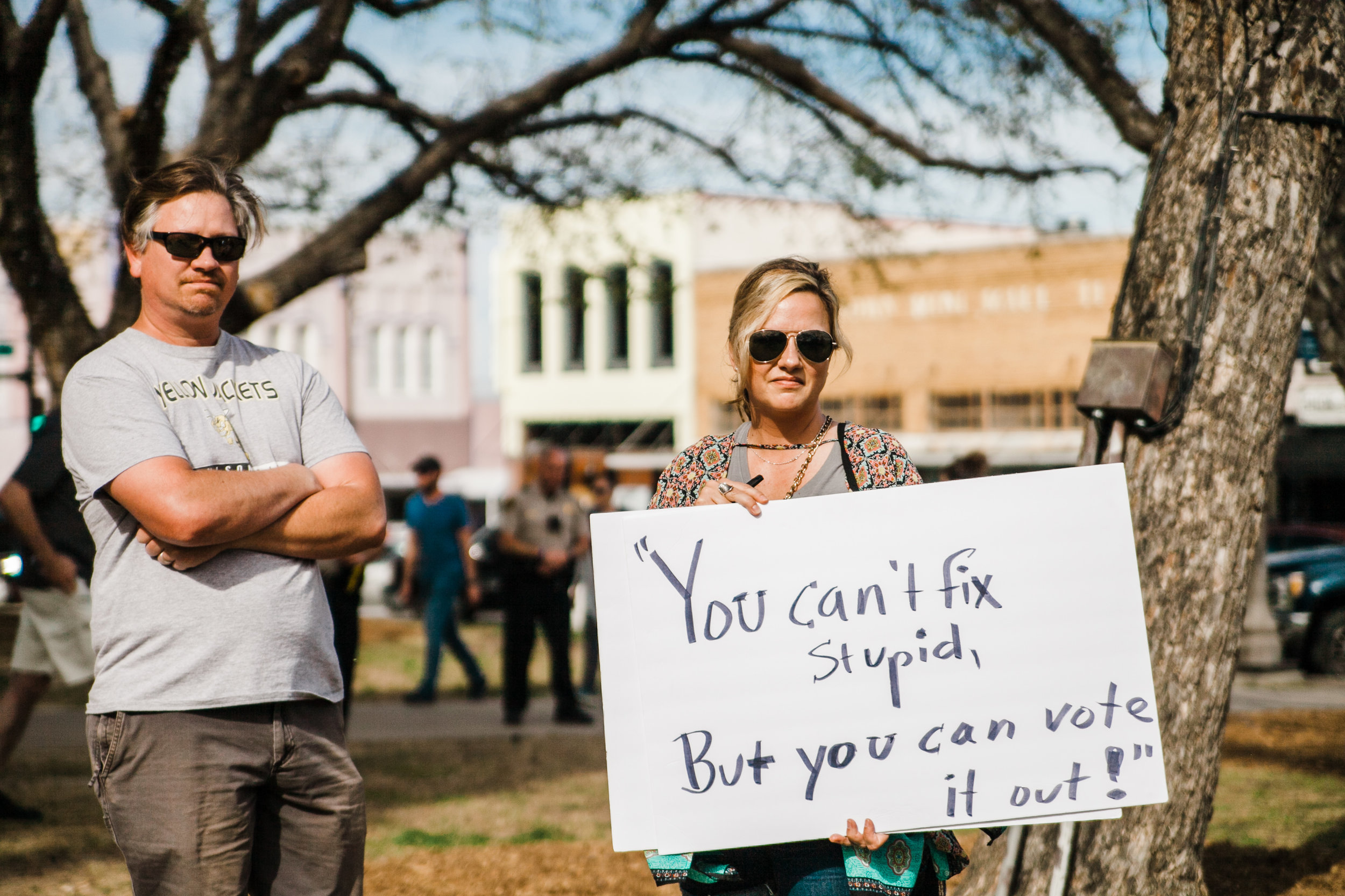 """""""You can't fix stupid, but you can vote it out."""" (Image via Unsplash.)   When is elected-accountability essential and when is there a better way of achieving outcomes for communities?"""