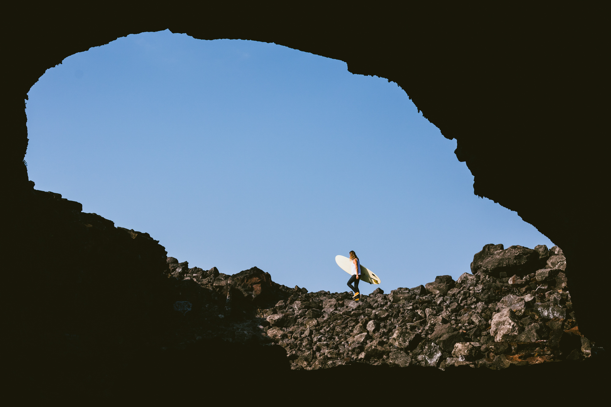 PrAna athlete-amabassador, Anna Ehrgott on the Big Island of Hawaii.