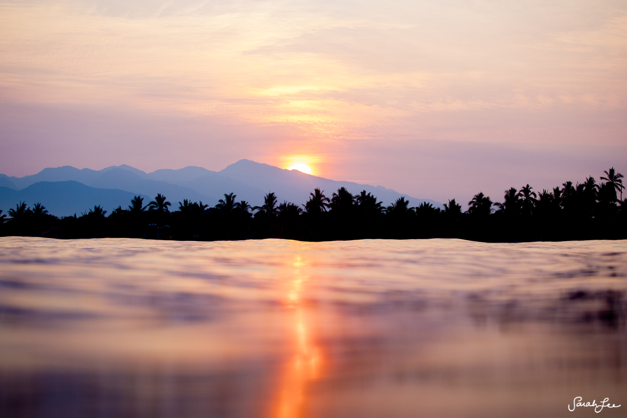 Sunrise in La Saladita, Mexi Log Fest 2018 · Longboard Surfing Festival Mexico