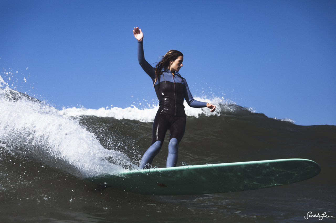 Paddle out and surfing at San Onofre with 2020 Presidential candidate, Tulsi Gabbard.