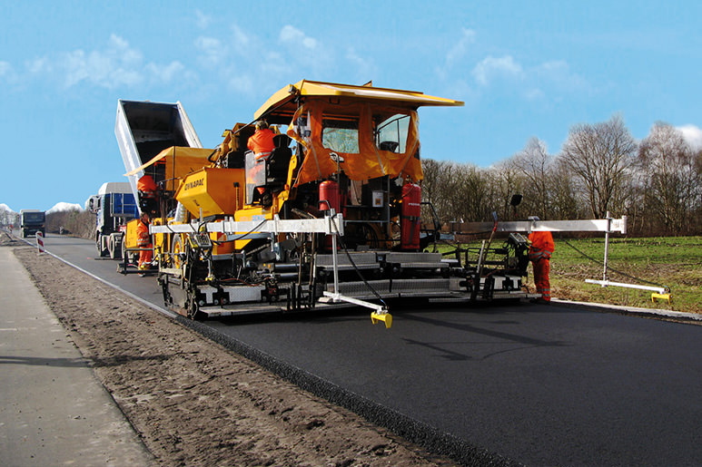 Machine Control for Asphalt Pavers