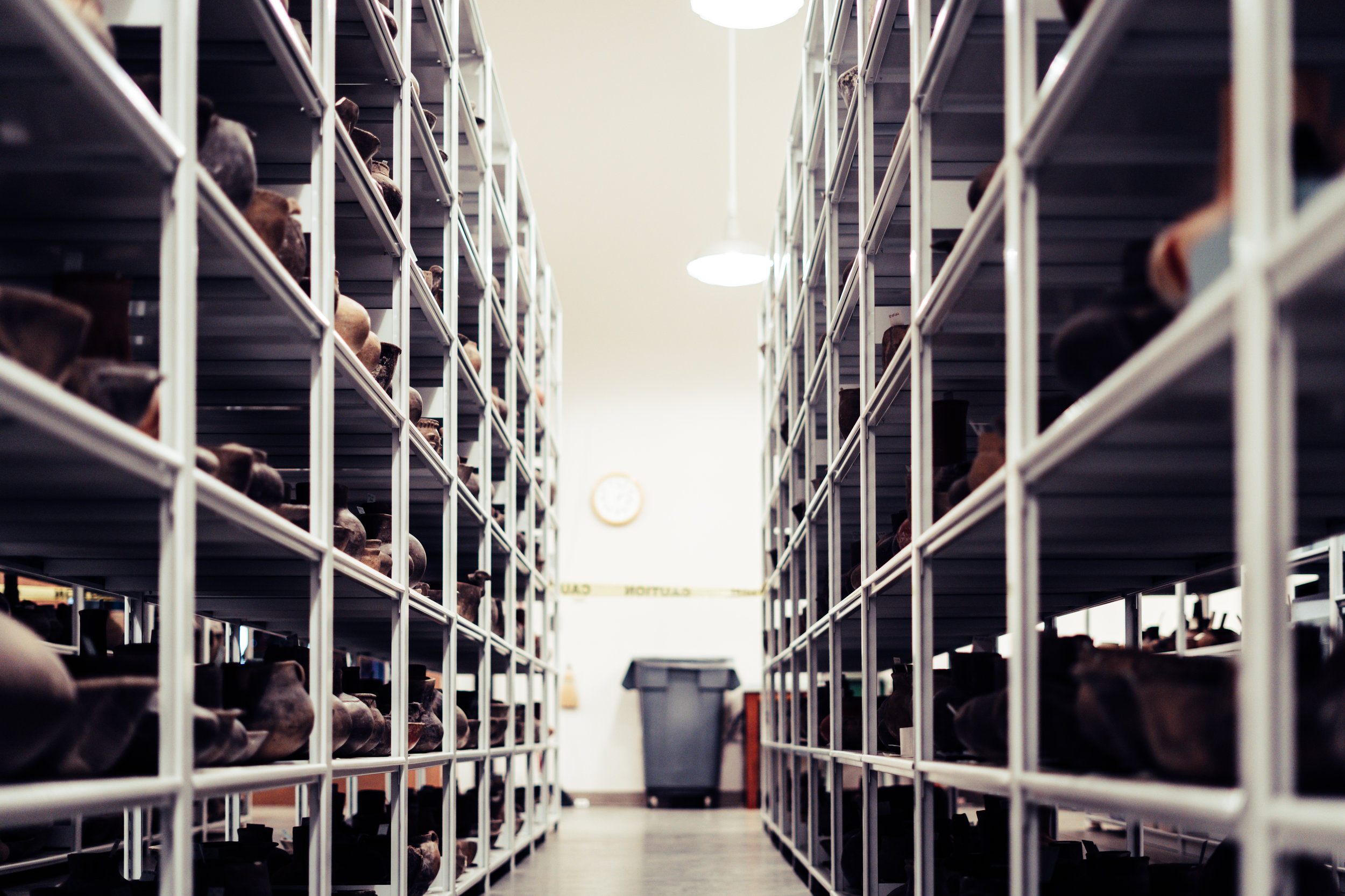 The Stacks at the University of Arkansas Archaeology Survey Building