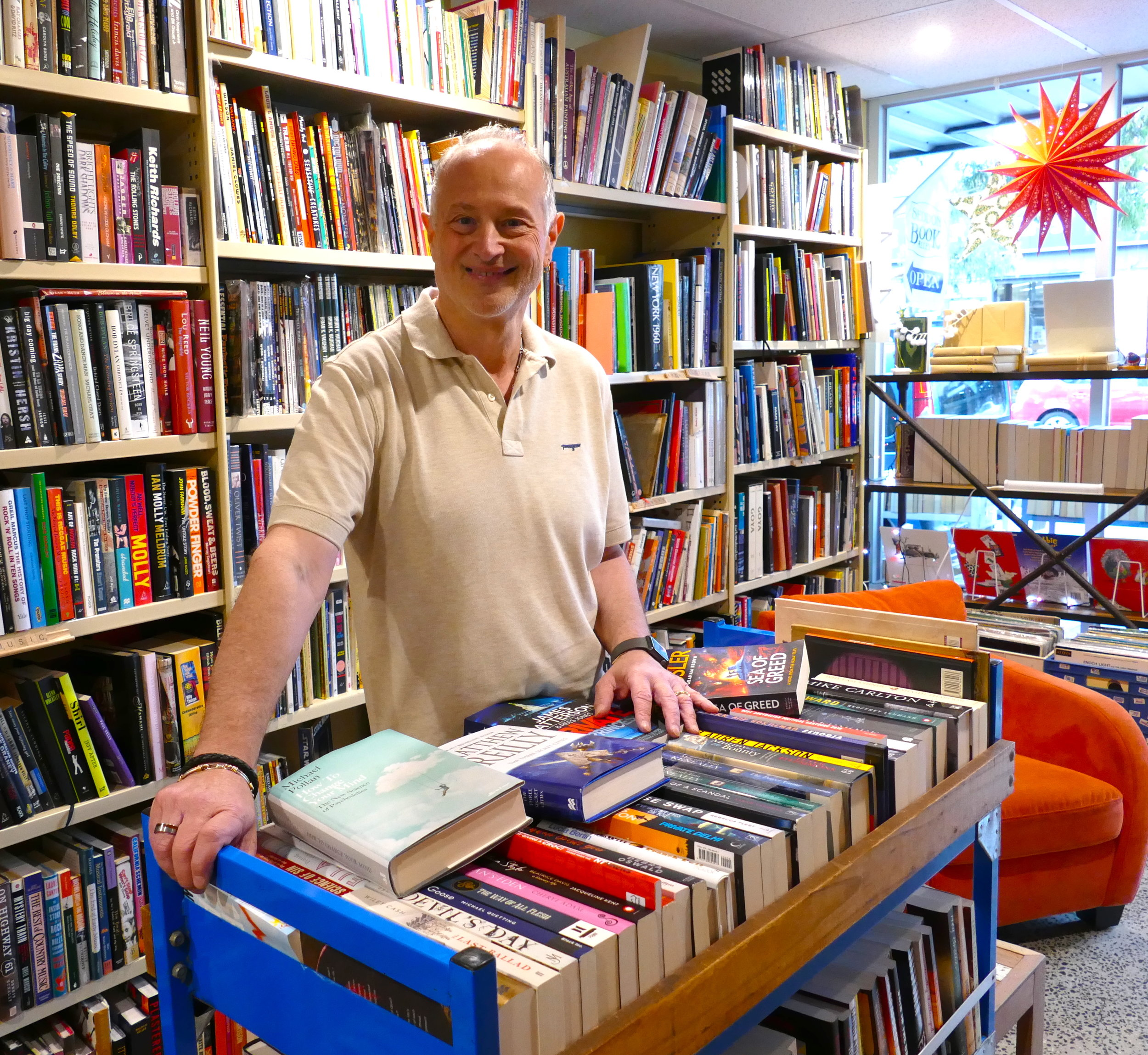 Robert Ford - Owner of Seddon Book Alley