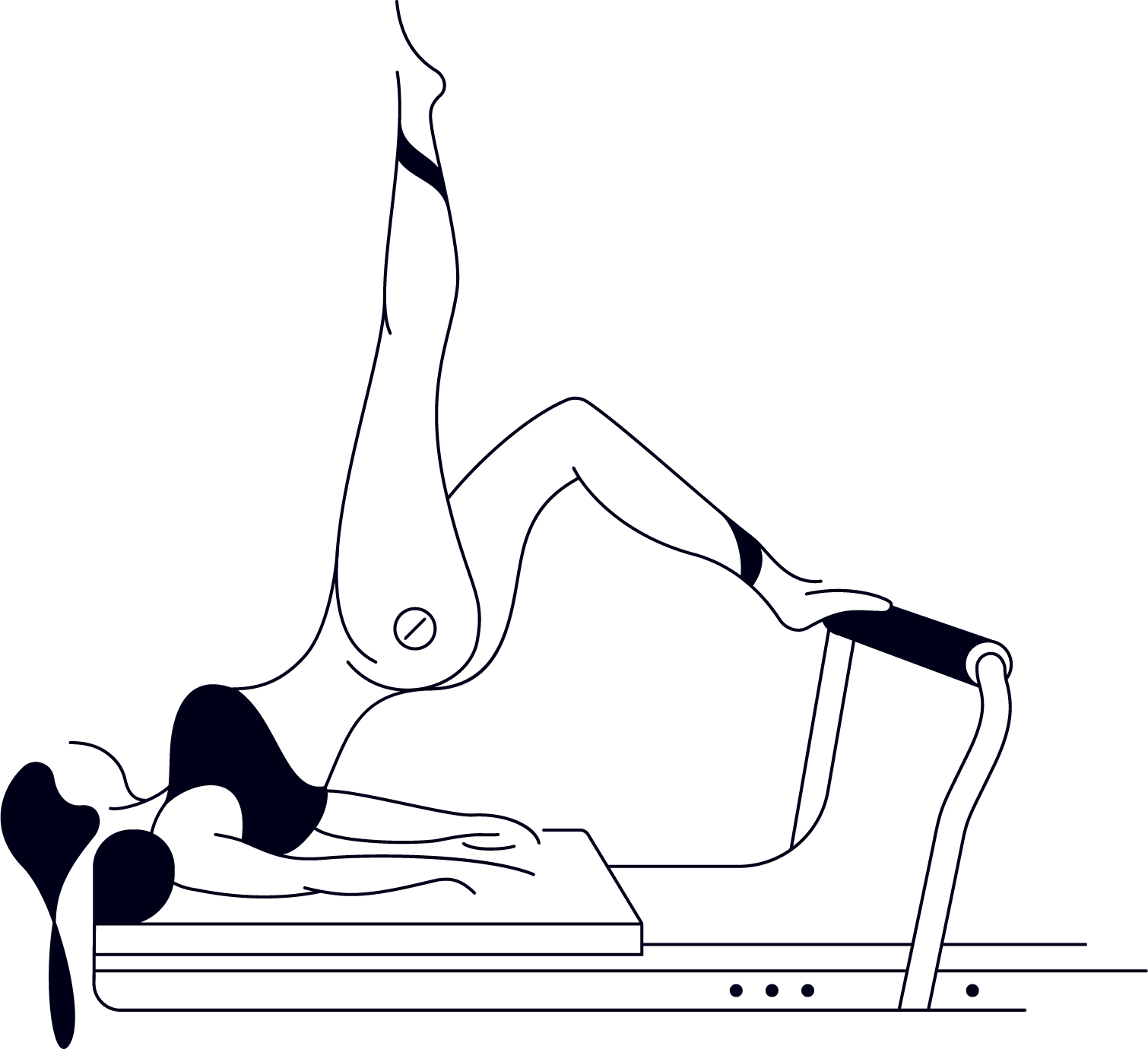 REFORMER - ESSENTIALS - Our Essentials class is open to everyone. This class focuses on fundamental Pilates principles, functional movement and refining your technique. Don't be fooled, our Essentials class isn't EASY, however, we offer regressions and progressions, so it's a class suitable for all levels.