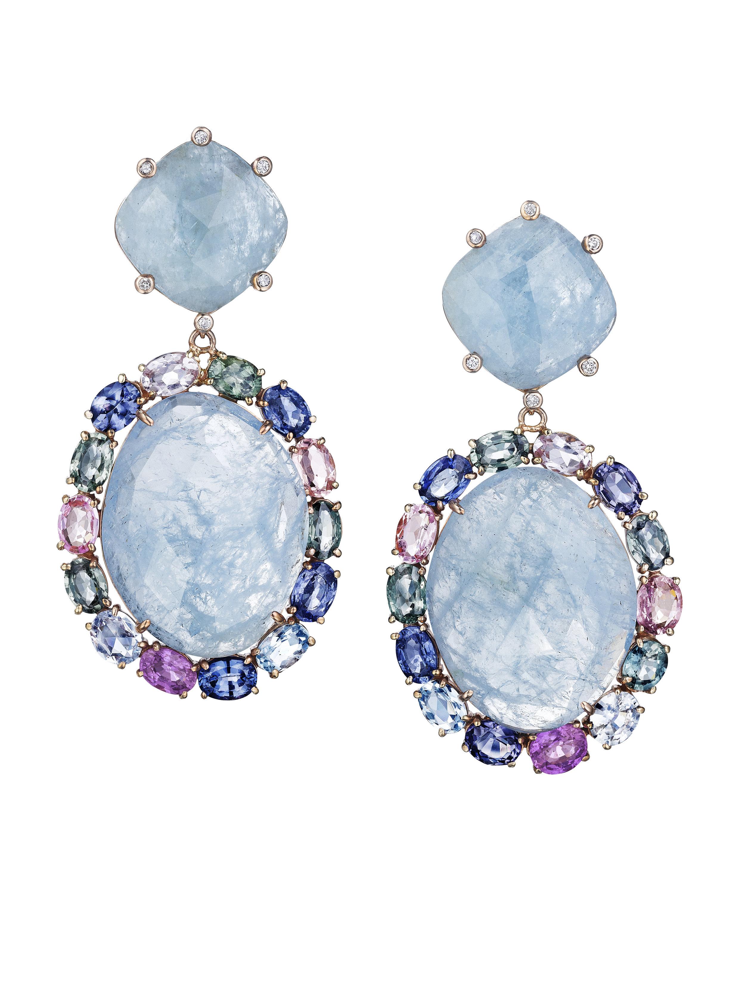 JOON HAN Aquamarine and Multi-Sapphire Earrings.jpg