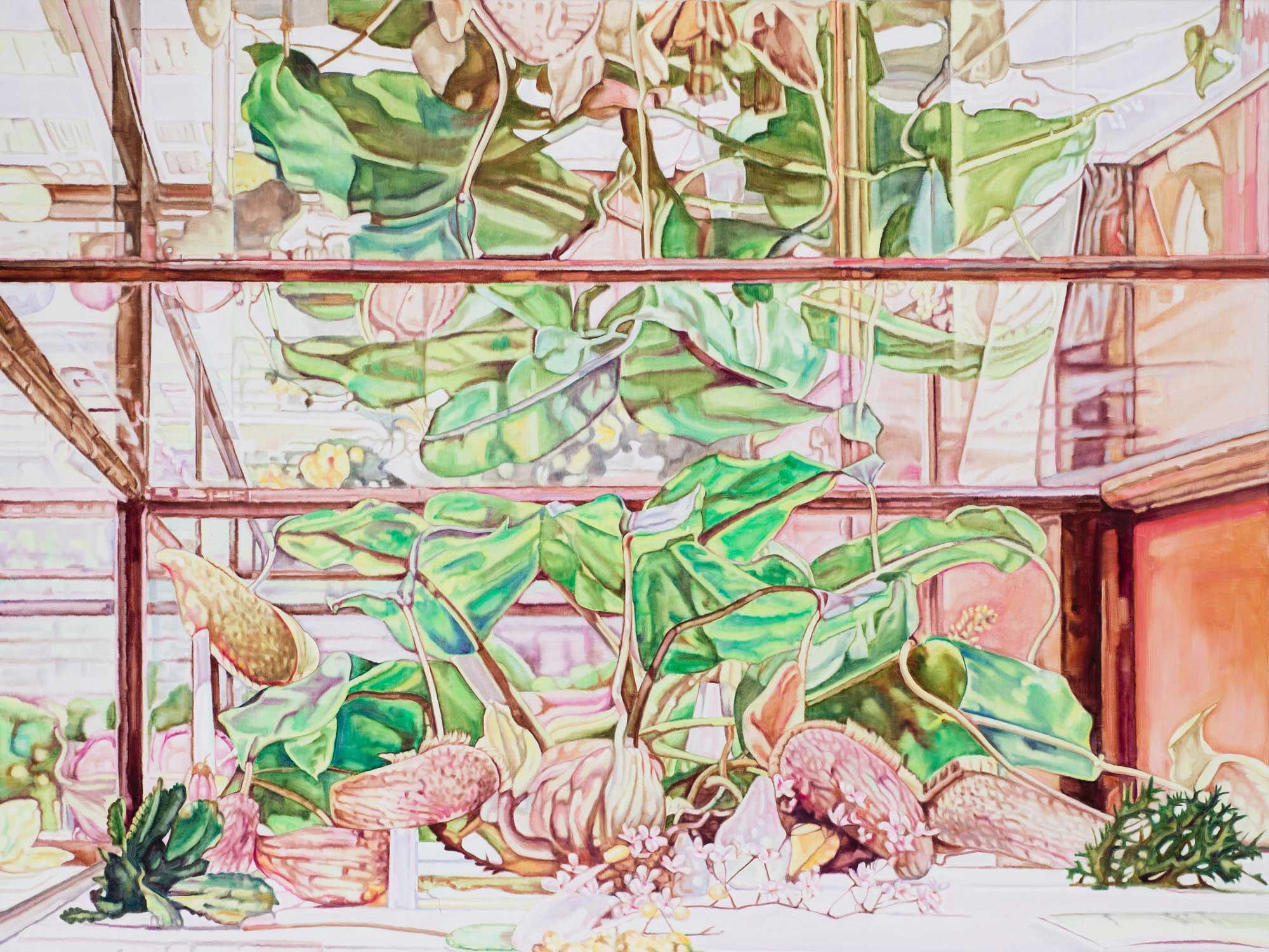 Big Jungle , 2014 122 x 163cm oil on linen